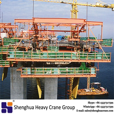 China HSHCL bridge construction Form Traveler machine