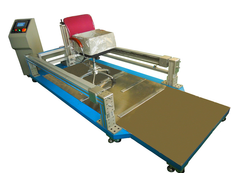 Rolling office chair sliding resistance testing machine