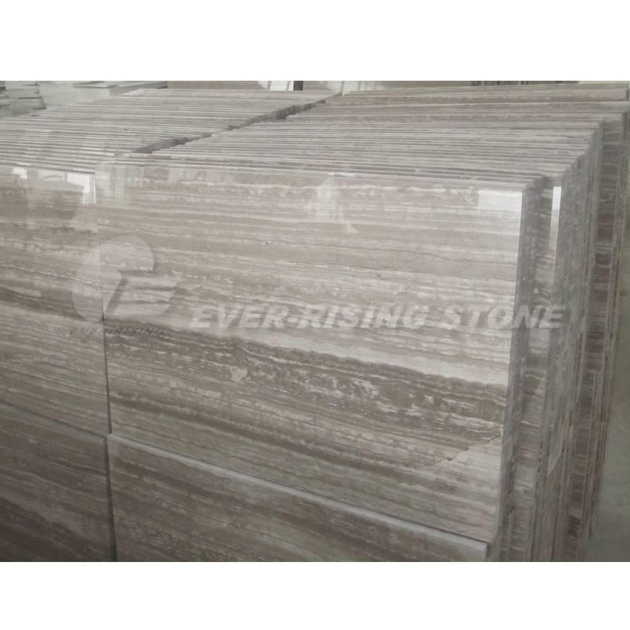 China Guizhou Woodvein Marble Tiles-Dark
