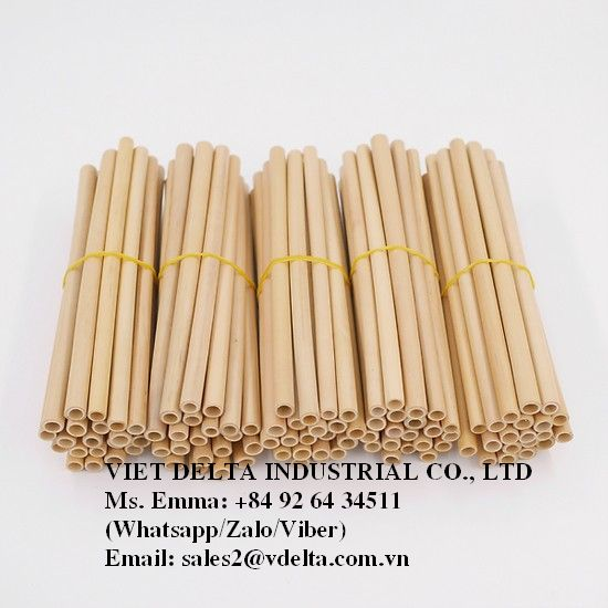 Eco-Friendly Bamboo Straw/High quality from Vietnam/Best price - Ms.Stella +84904575651