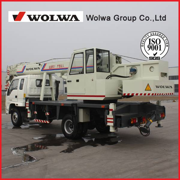 Wolwa 10 ton Truck Crane with low price for sale GNQY-C10