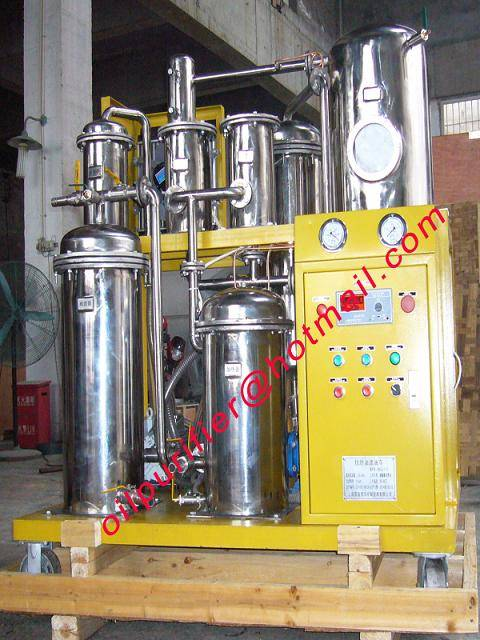 Hydraulic Oil Recycling Machine, Oil Treatment Factory, Oil Purification Plant,Hydraulic Filter