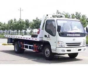 flatbed Tow Truck wrecker ST5062TQZKP