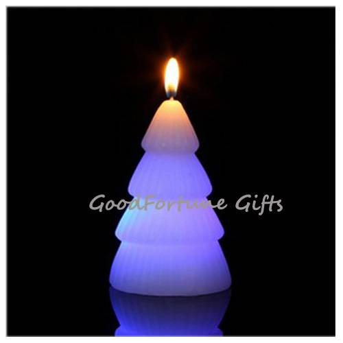 Sell religious christmas halloween coloured Eco led glow flash candle wax