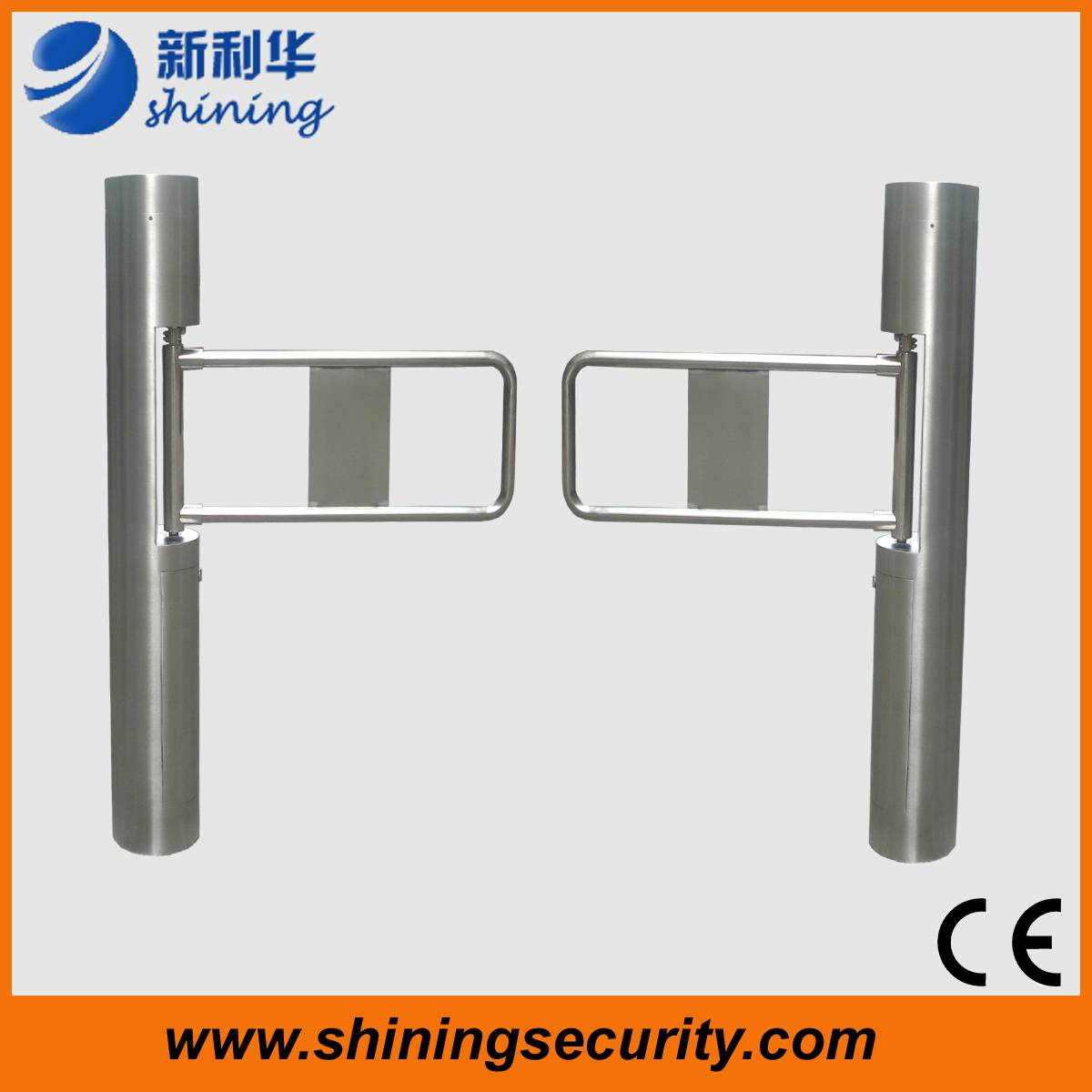 Swing turnstile/swing barrier for RFID access control system with high quality