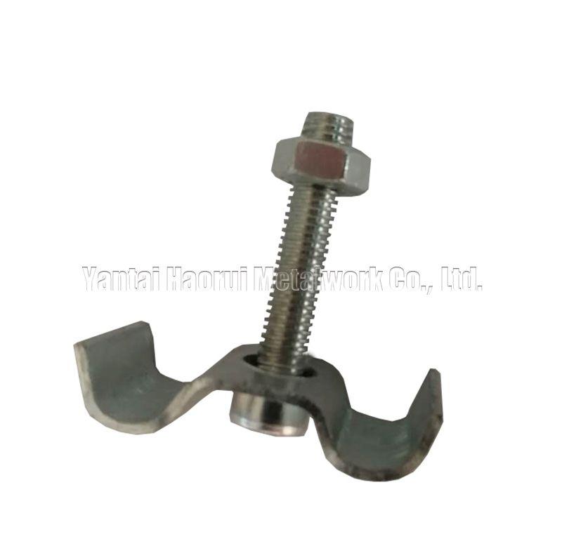 C-type steel grating clamps