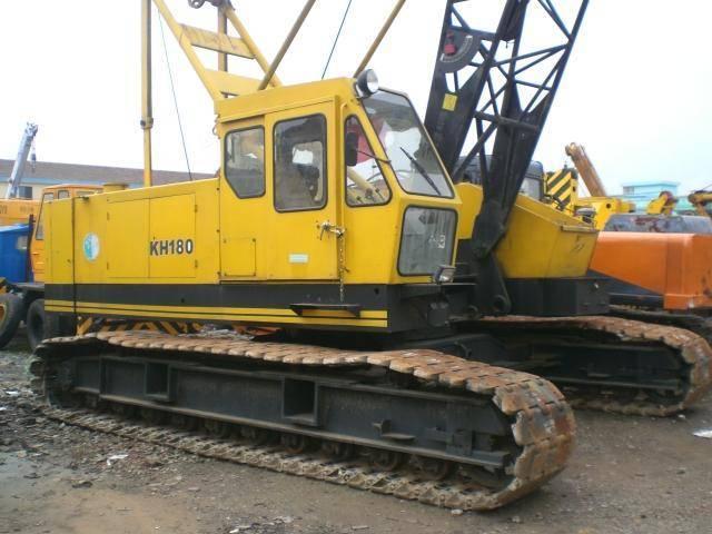 Used crawler crane hitachi kh180,hitachi used track crane kh180