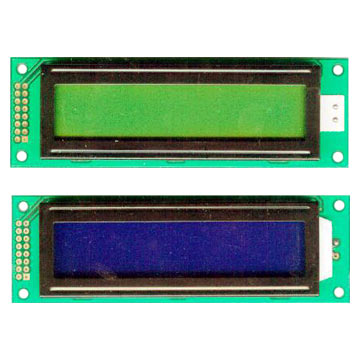 20 x 2 LCD Character Modules