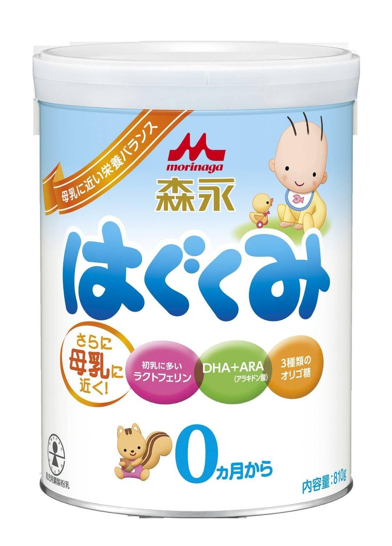 Morinaga milk powder hagukumi from Japan
