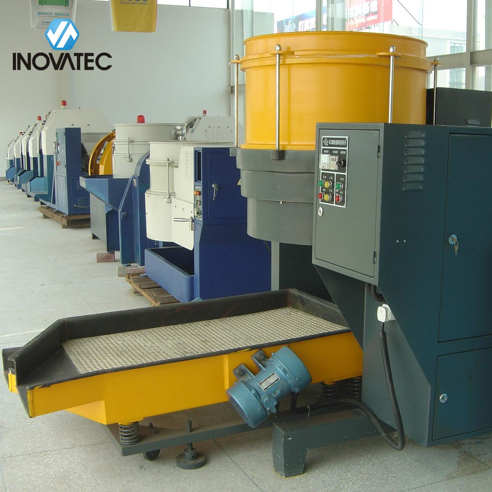 centrifugal disc polishing machine - Automatic unloading