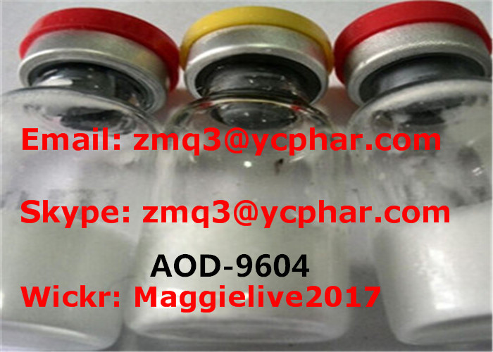 98% Purity AOD 9604 Peptide Hormones Bodybuilding Grade Loss Weight Peptides Aod-9604
