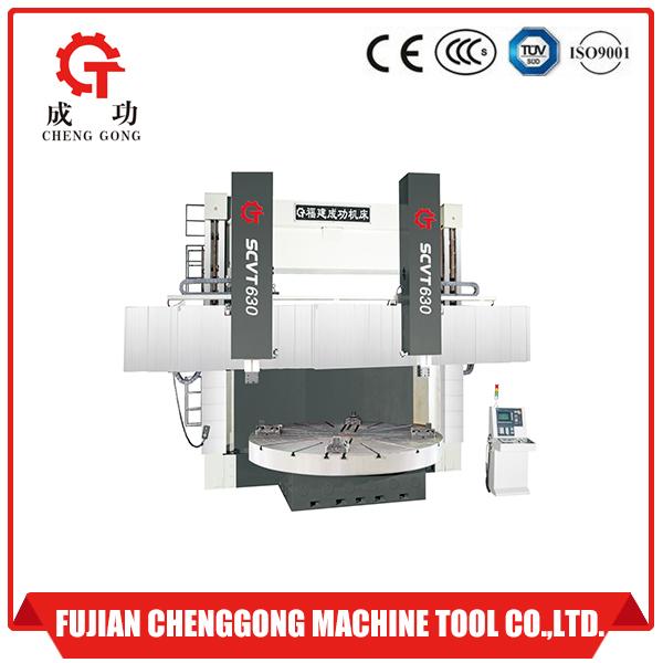 SCVT630 Double column CNC vertical lathe machine