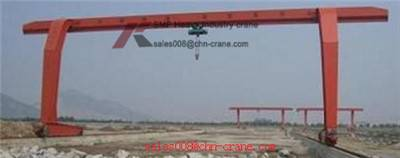 product quality L-shape Leg Single Girder Gantry Crane