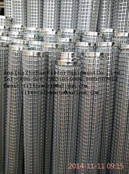 hydraulic system oil stainless steel filter element