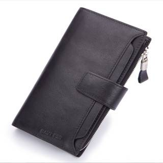Hautton Brand Europe Style Top Layer Leather Genuine Smart Wallet QB102