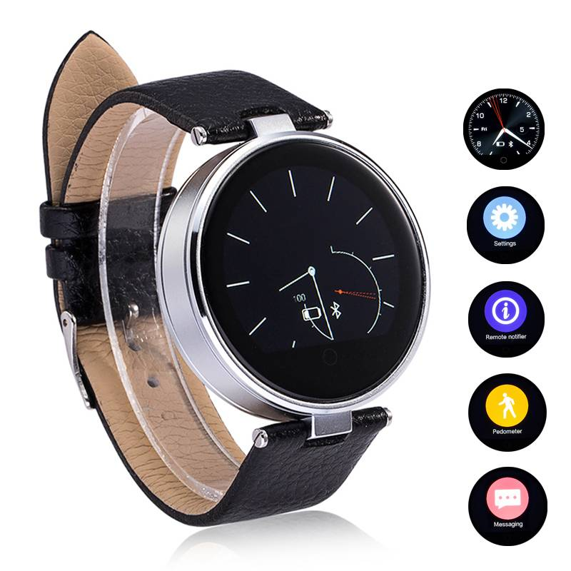 IOS Android Bluetooth 4.0 Round Smart Watch
