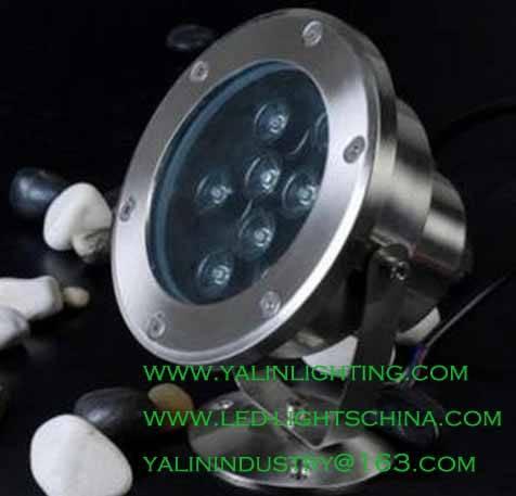 waterproof LED underwater light, garden pool LED spotlight, decorative outdoor lighting