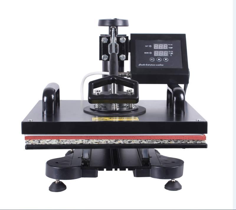 2018 multifunction 8 in 1 combo mug heat press Transfer Printing machine in Korea