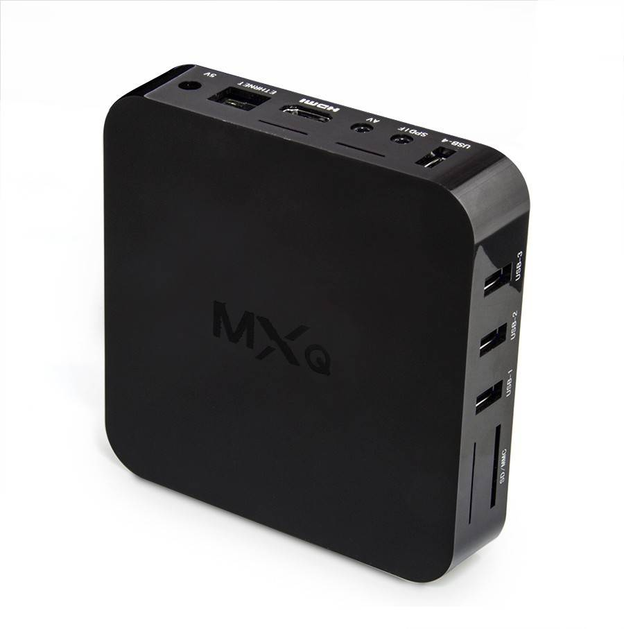 MXQ TV BOX AMLOGIC S805 QUAD CORE ANDROID 4.4 KITKAT 4K 1GB RAM 8GB ROM KODI TV BOX