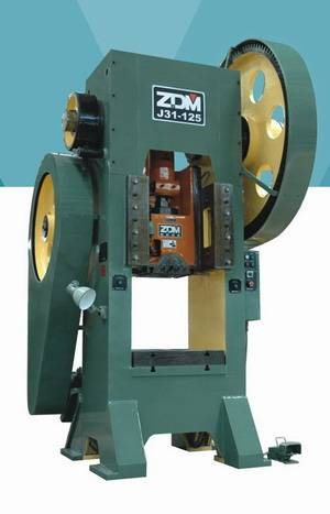 Series J31 Single Crank Straight Side Forging pressing punching mechanical press puncher machine equ