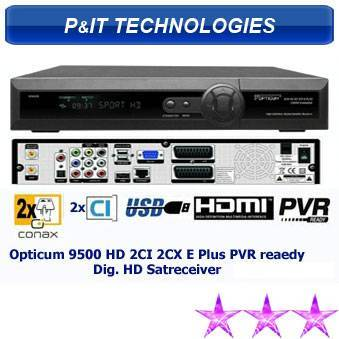 Opticum 9500HD PVR Ready DVB-S Digital Satelliate TV Receiver