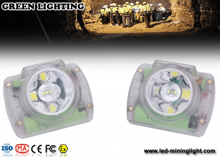 Cordless Mining Cap Lamp, Explosion Proof IP 68 Miner Light