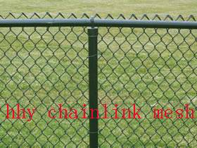 Chainlink mesh, all kinds of chain link fence (factory)