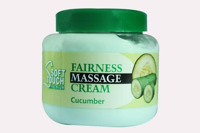 Soft Touch Fairness Massage Cream (Cucumber)