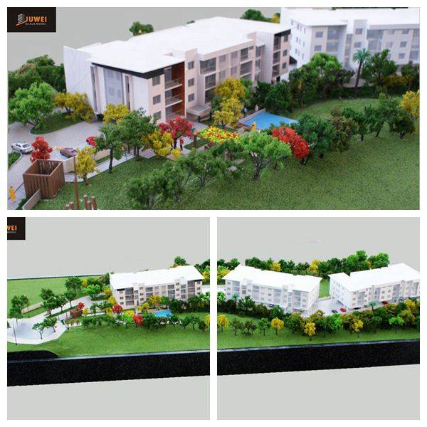 Architectural scale model,residential model