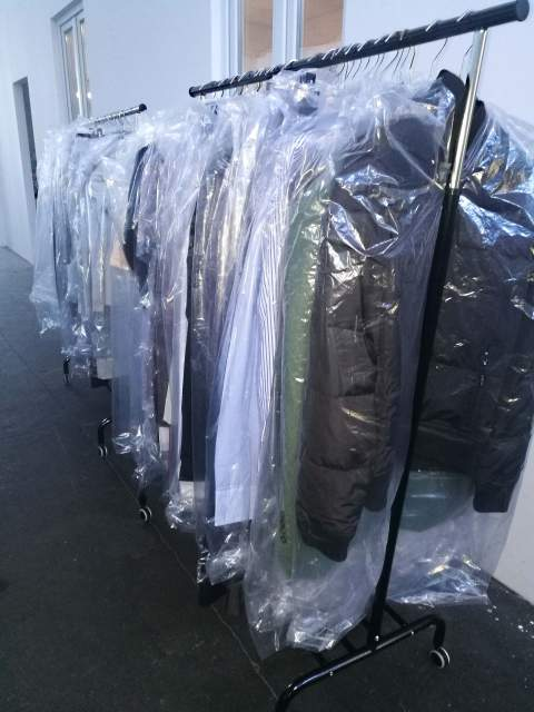 Stock of men's and women's clothing