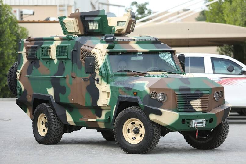 Tygra - Light Armored Personnel Carrier