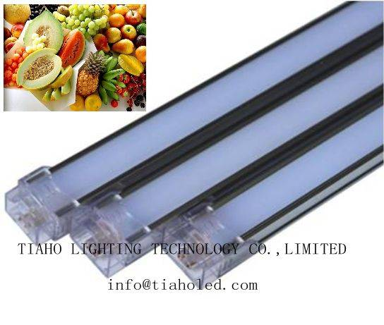 led hard bar light led food light fresh meat pink tube fruit t8 led light