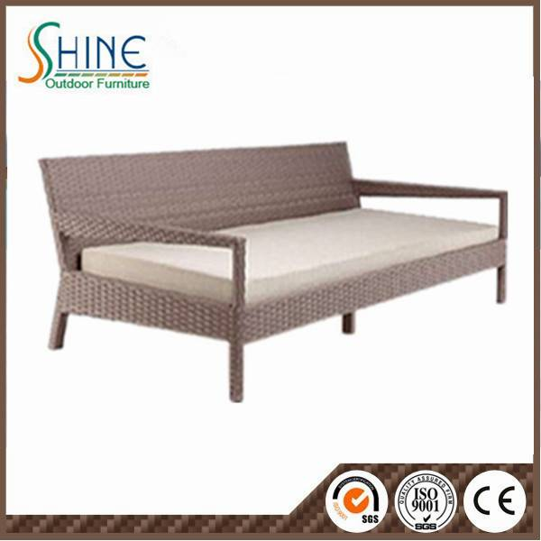 Hot Sale Sofa Rattan Lounge with Armrest SFM3-20150522-11