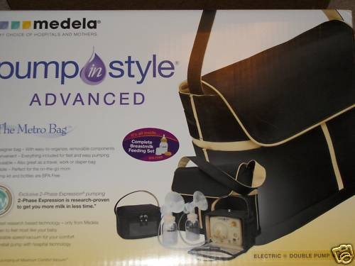 NEW Medela Pump in Style Advanced The METRO Bag