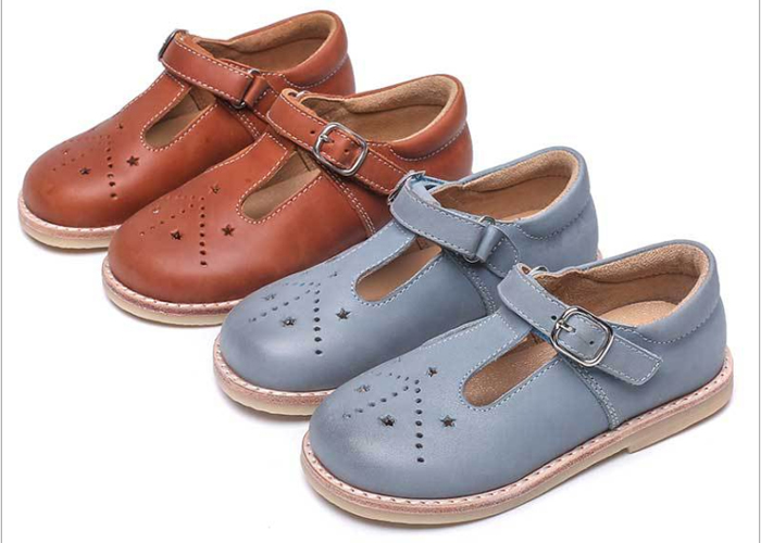Girls Mary Jane Flat EU 23-30 Soft Kids Shoes Manufacturer Real Material