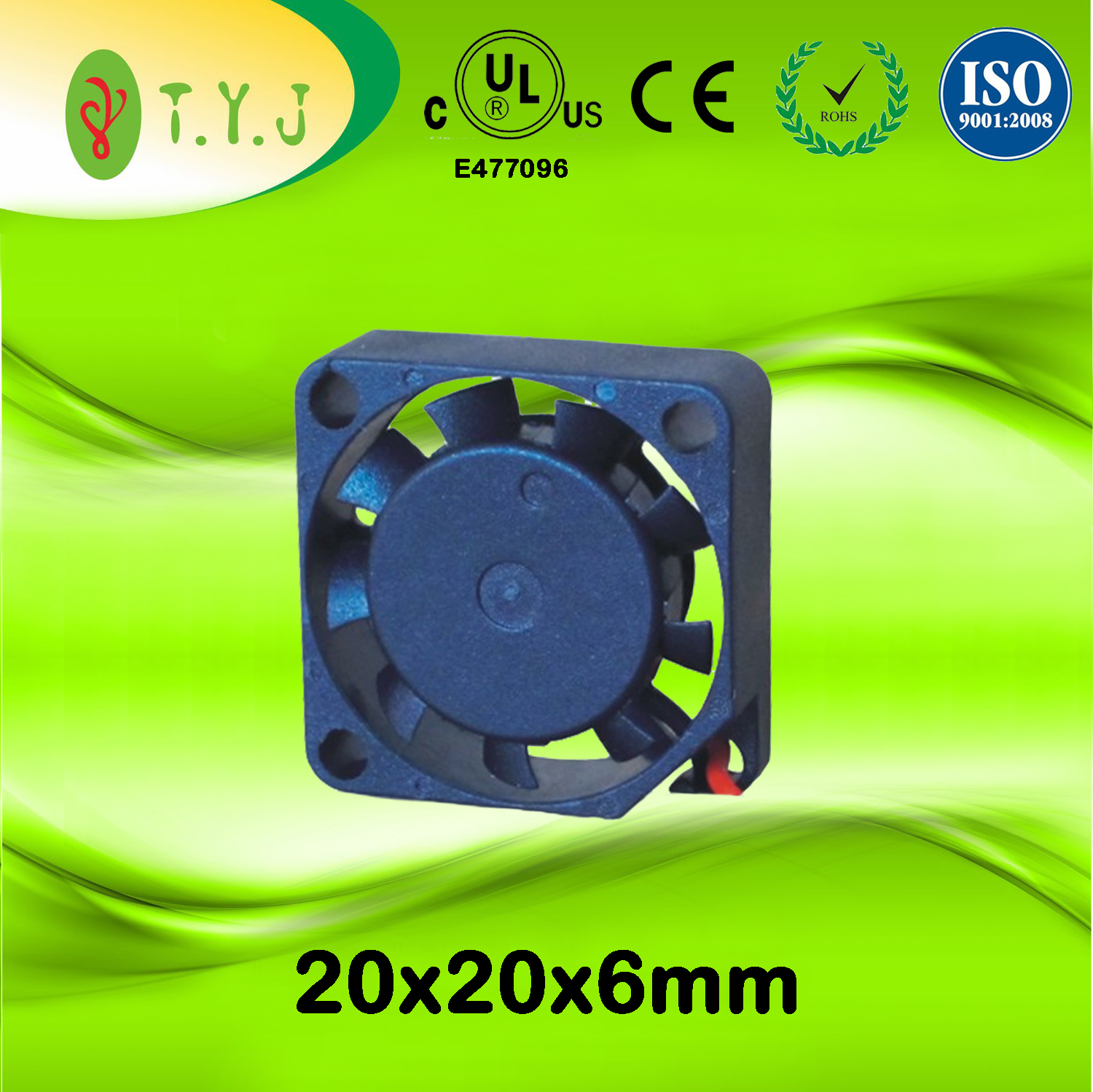5v 20x20x6mm dc brushless mini cooling fans