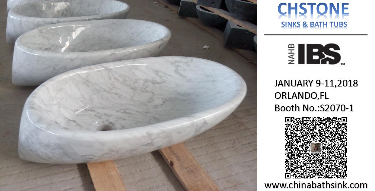 Carrara White Marble Sink,China Carrara White Bath Vessel Sink