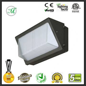 dlc led wall pack 40W outdoor garage lighting