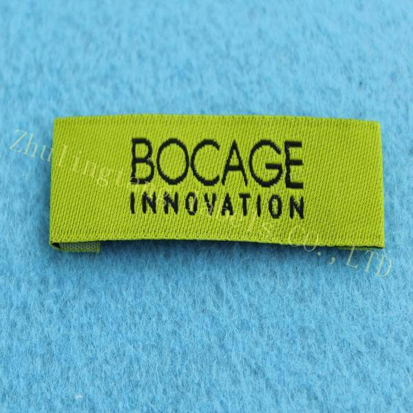 China direct manufacture woven label&brand name label