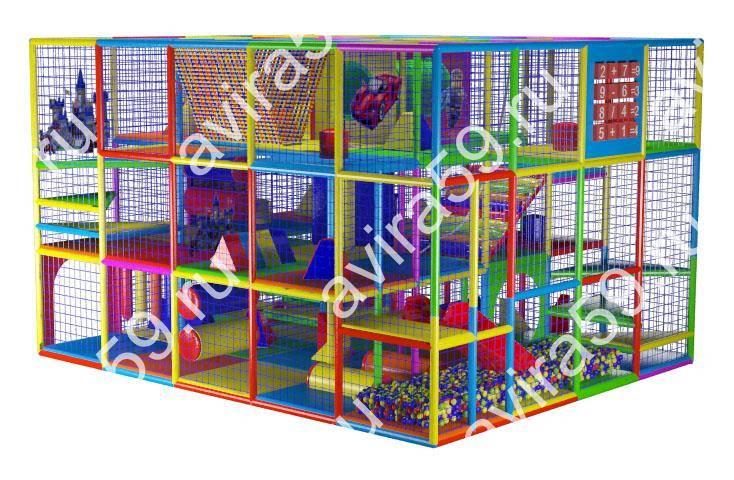 Indoor playground Lego