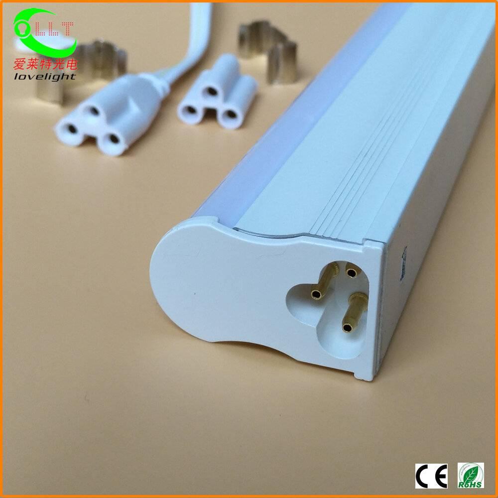 Integrated T5 LED Tube White Aluminum Housing