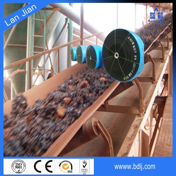 china ISO certified manufacturer durable pvc flame resistant conveyor belt