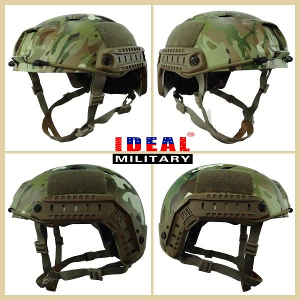 Fashion Camouflage helmet Plastic Tactical Military Paintball Airsoft Helmet War Game Military Helme