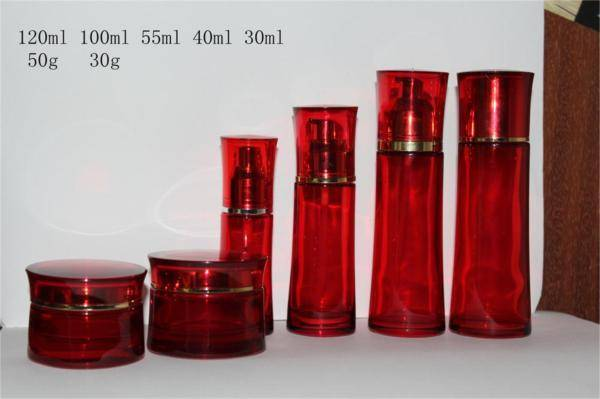 selling glass cosmetic jars for cosmetic packaing made in china