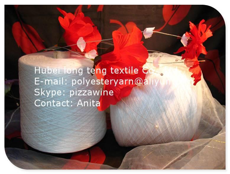 100% Spun polyester yarn/sewing thread