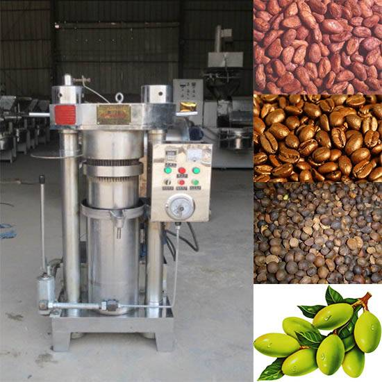3600 dollar cocoa bean hydraulic oil press machine