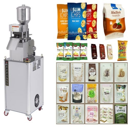 Rice cake popping machine | Bakery & Confectionery industry use