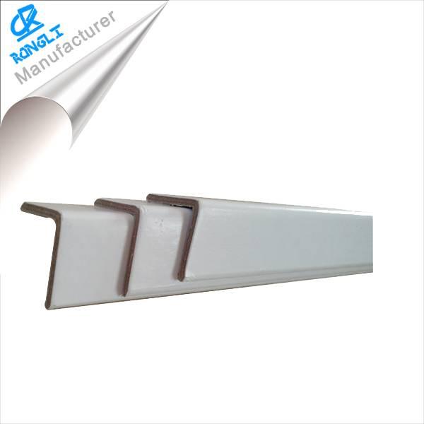 white paper corner protector/paper angle board