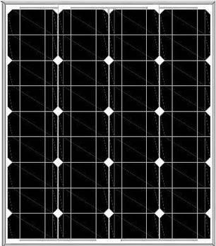 18V Mono Solar panel 70W