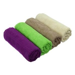 pure color bath towels